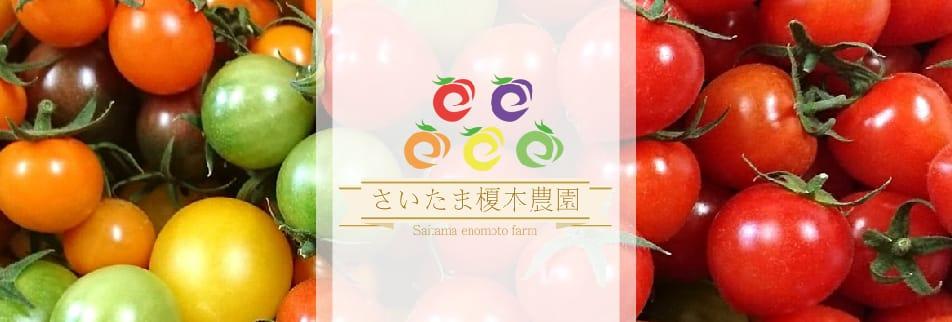 さいたま榎本農園 ミニトマト等15種類&露地野菜/農家レストラン菜七色